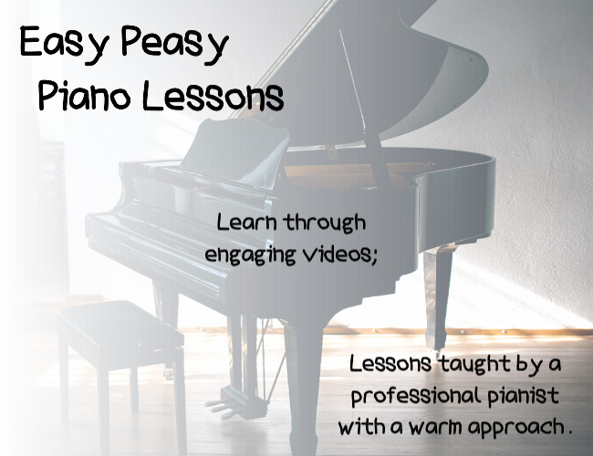 Easy Peasy Piano Lessons Cover Pic